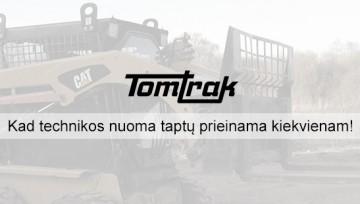 """""""TomTrak"""" – kad technikos nuoma taptų prieinama kiekvienam!"""